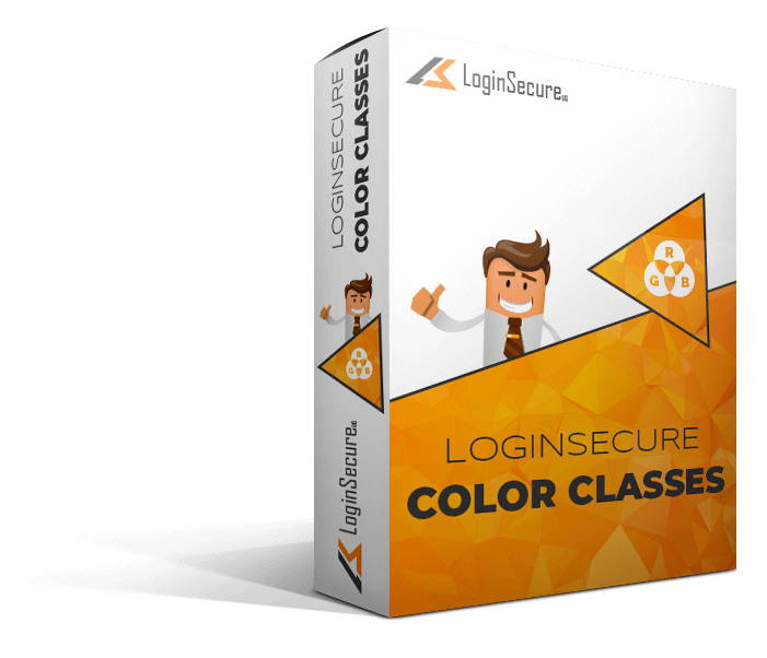 LoginSecure Color Classes