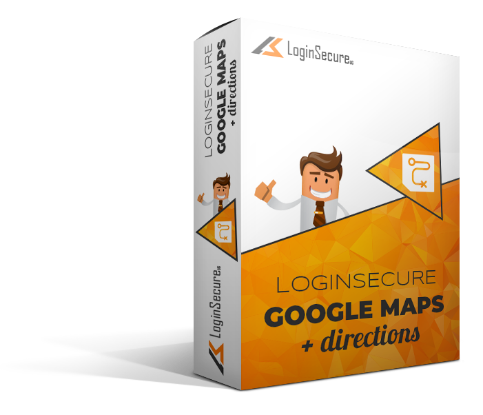 LoginSecure Google Maps + Directions